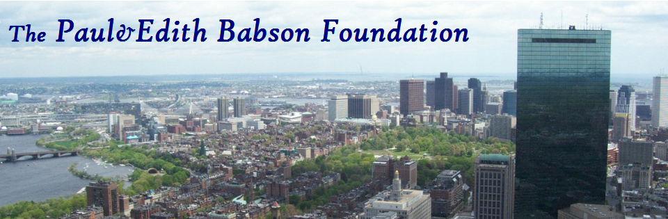 The Paul & Edith Babson Foundation